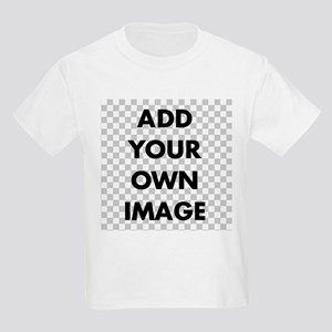 Custom Add Image Kids Light T-Shirt