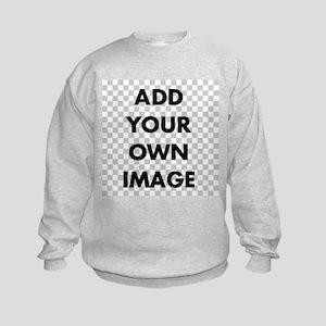 Custom Add Image Kids Sweatshirt