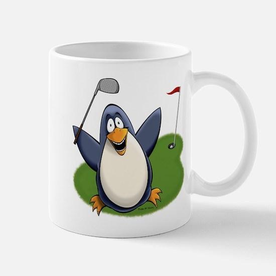 Golf Penguin Mugs