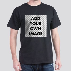Custom Add Image Dark T-Shirt
