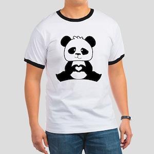 Panda's hands showing love Ringer T