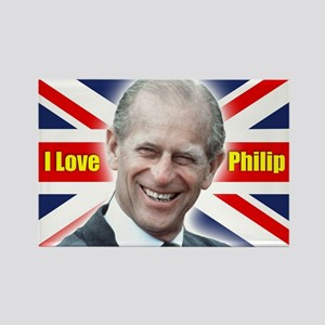 I Love Philip - Prince Philip Magnets