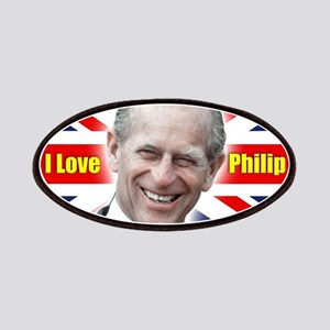 I Love Philip - Prince Philip Patches