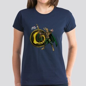 Loki Icon Women's Dark T-Shirt