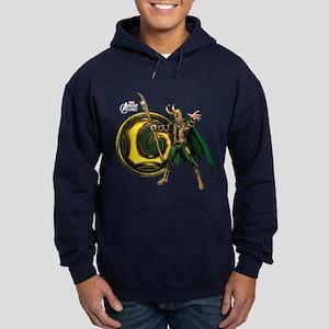 Loki Icon Hoodie (dark)
