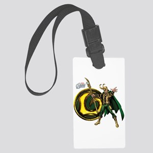Loki Icon Large Luggage Tag