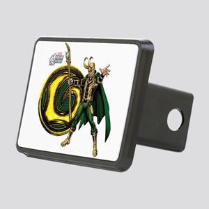 Loki Icon Rectangular Hitch Cover