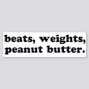 Peanut Butter Bumper Sticker