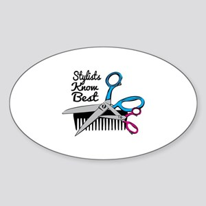 Stylists Know Best Sticker