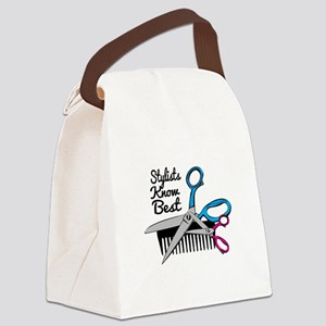 Stylists Know Best Canvas Lunch Bag