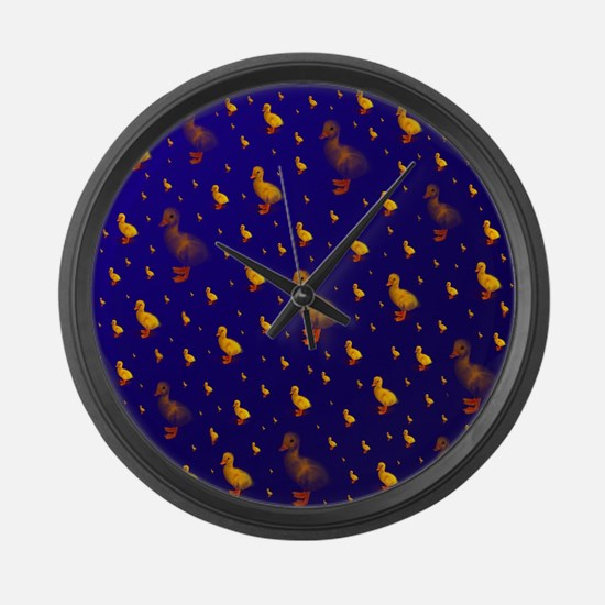 kleine ente Large Wall Clock