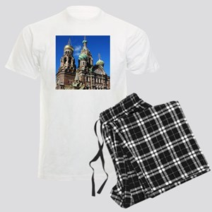 St. Petersburg, Russia Men's Light Pajamas