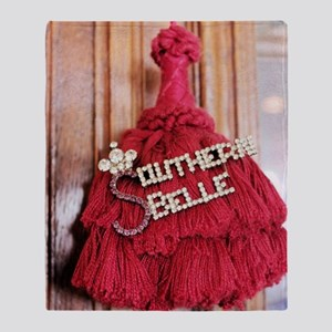 southern belle Throw Blanket