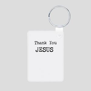 Thank You Jesus Keychains