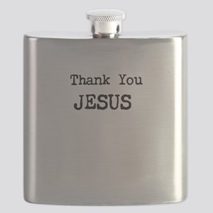 Thank You Jesus Flask