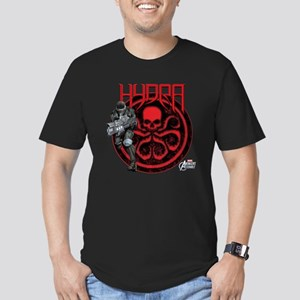 Hydra Agent Men's Fitted T-Shirt (dark)