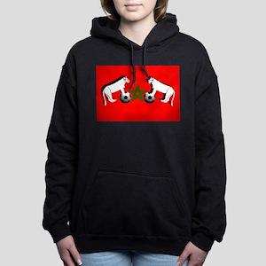 Moroccan Football Lions Women's Hooded Sweatshirt