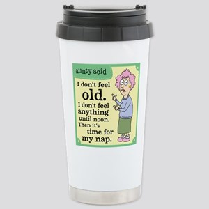Aunty Acid: Time to Nap Stainless Steel Travel Mug