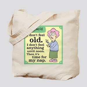 Aunty Acid: Time to Nap Tote Bag