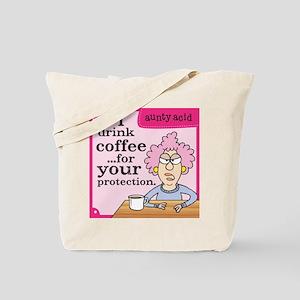 Aunty Acid: Coffee Protection Tote Bag