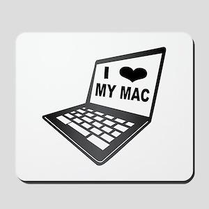I Love My Mac Mousepad