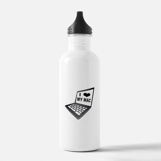 I Love My Mac Water Bottle