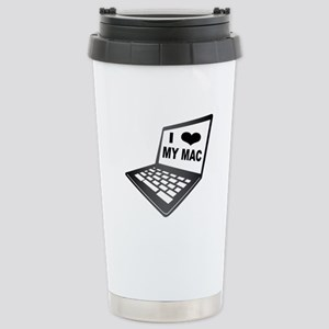 I Love My Mac Travel Mug