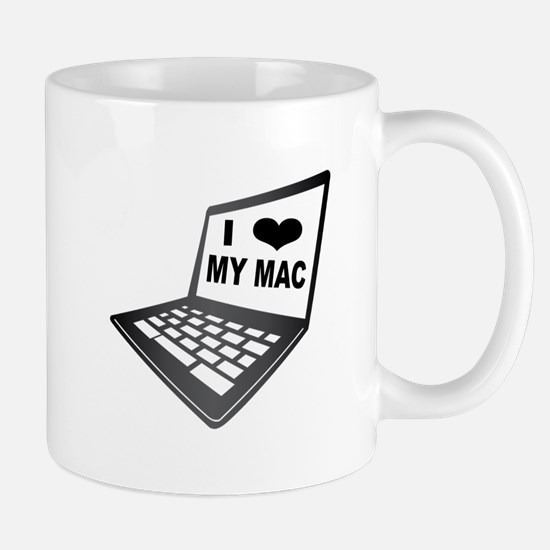 I Love My Mac Mugs
