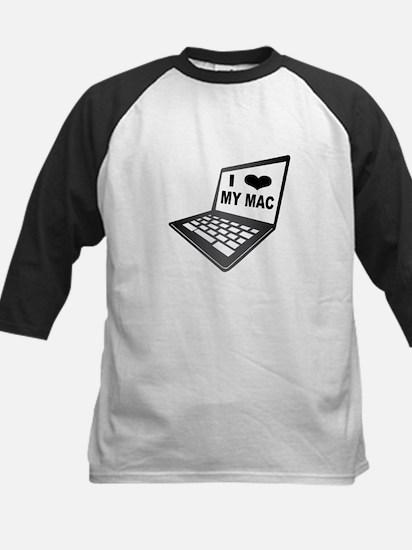 I Love My Mac Baseball Jersey