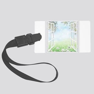 Spring View Luggage Tag
