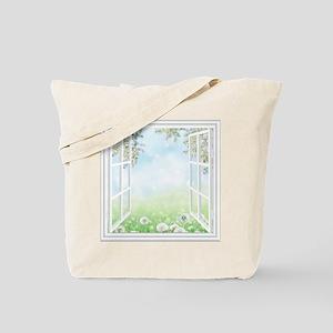 Spring View Tote Bag