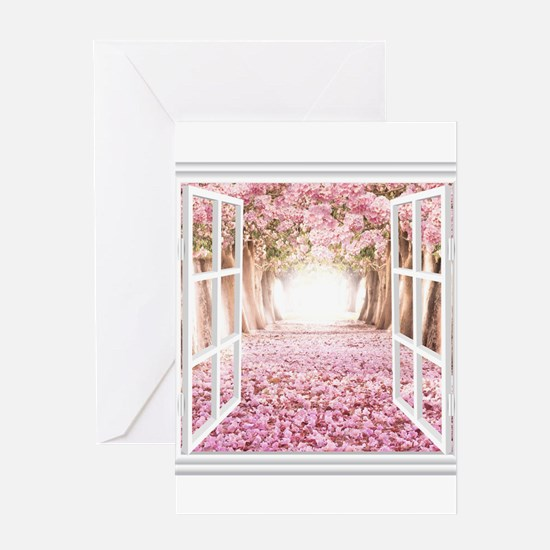 Romantic View Greeting Cards