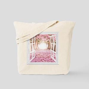 Romantic View Tote Bag