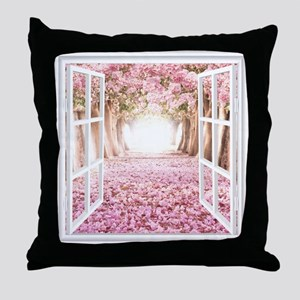 Romantic View Throw Pillow