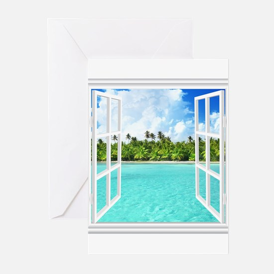 Island View Greeting Cards