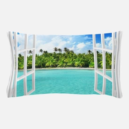 Island View Pillow Case