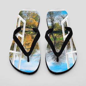 Lake View Flip Flops