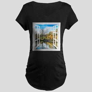 Lake View Maternity T-Shirt