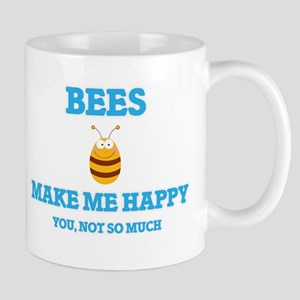 Bees Make Me Happy Mugs