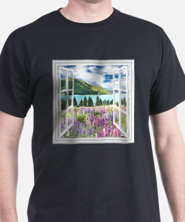 New Zealand View T-Shirt