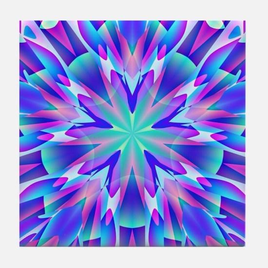 Trippy Tile Coaster