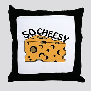 So Cheesy Throw Pillow