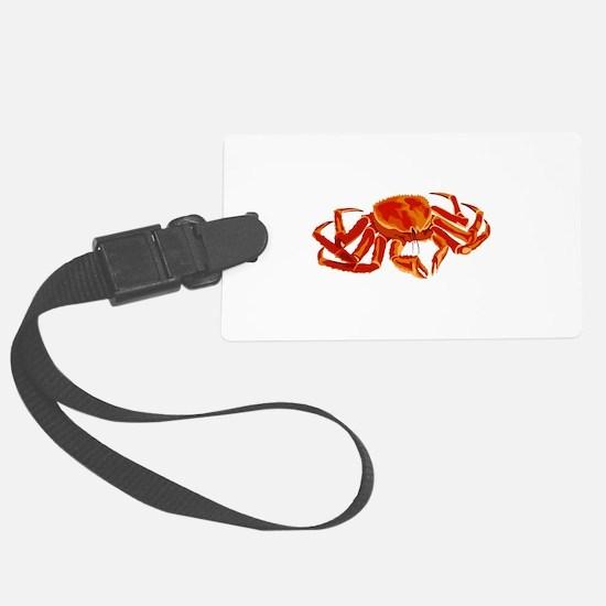 Marine King Crab Luggage Tag