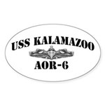 USS KALAMAZOO Sticker (Oval)