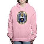 USS KALAMAZOO Women's Hooded Sweatshirt