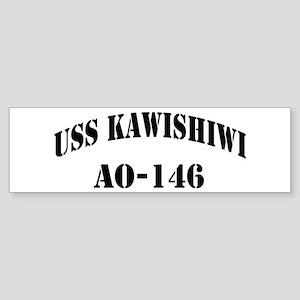 USS KAWISHIWI Sticker (Bumper)