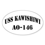 USS KAWISHIWI Sticker (Oval)