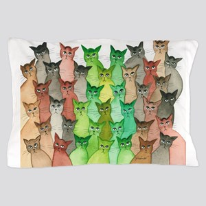 Scio Stray Cats Pillow Case