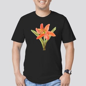 Tiger Lily Men's Fitted T-Shirt (dark)