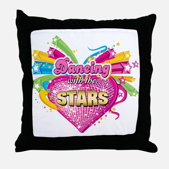 Dancing with the Stars Throw Pillow